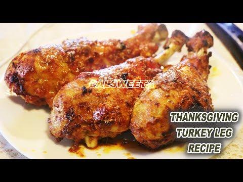 BAKED TURKEY LEG RECIPE
