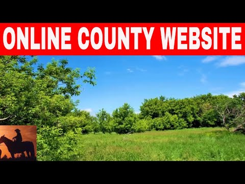 How To Find Your Property On A County Website