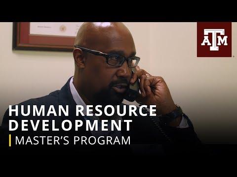 Master's Program: Human Resource Development