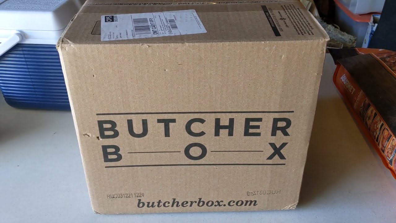 Unboxing a Customized ButcherBox Order with Wild Salmon,Wild Cod and Beautiful Corn Beef Brisket