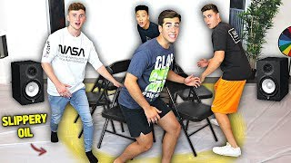 First To Sit, Wins $10,000 - Musical Chairs Challenge