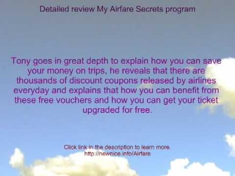 Low cost airfares -secret of   airfare lowest and  travels deals