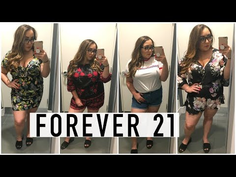 FOREVER 21 PLUS INSIDE THE DRESSING ROOM (APPLE SHAPE)