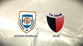 Fútbol en vivo. Rafaela vs. Colón. Fecha 8. Torneo de Primera División 2016/2017. FPT
