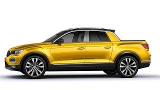 #PHOTOSHOP Nova #Volkswagen #Saveiro 2019 Rival da #Fiat #Toro & #Oroch@T-Roc #Pickup #TRoc #VWTRoc