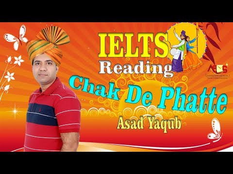 IELTS Reading Secret Tips and Tricks in Punjabi By Asad Yaqub