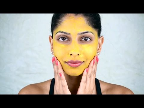 Easy Turmeric Face Mask Tutorial With Arshia's Makeup