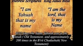 Is the Creators name spelled Yahuah or Yahuwah  - PakVim net