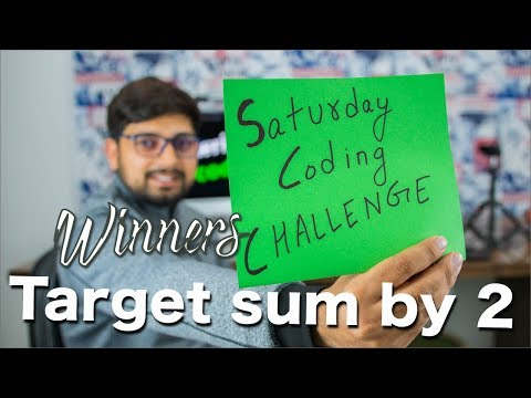 Target sum by 2 Winners