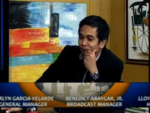 Philippine Business TV Talk Show Host and Motivational Speaker Lloyd Luna