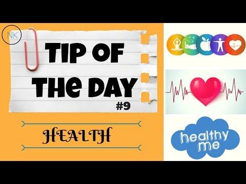 Daily Whatsapp Healthy Tip of the Day #9 | Health | Nainja Kapoor