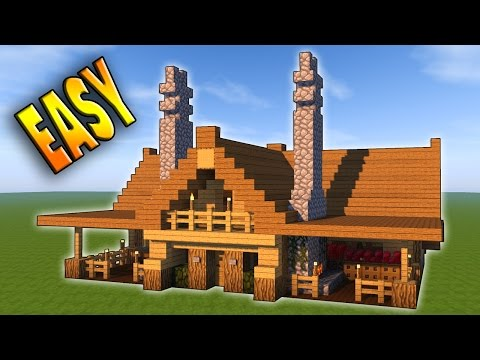 Minecraft: How To Build The Ultimate Survival House Tutorial