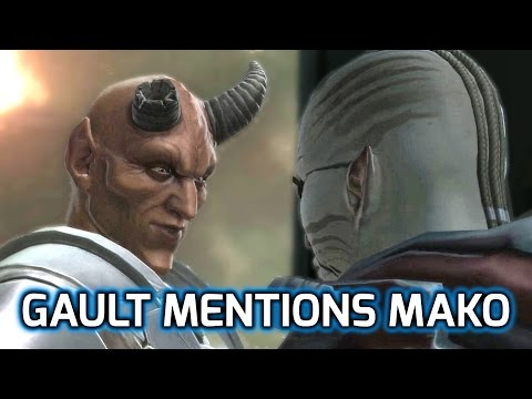SWTOR ► Gault mentions Mako - Bounty Hunter Only (KOTFE Chapter 13)