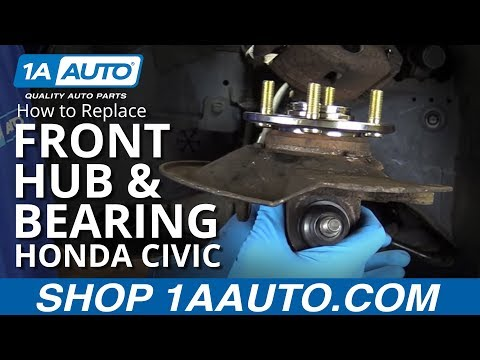 Integra type r wheel bearing integra type r how to replace install front hub and bearings 2003 honda civic sciox Gallery