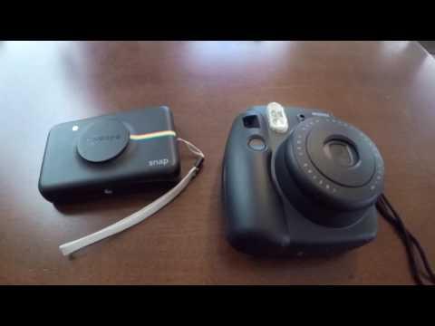 Polaroid Snap vs Fujifilm Instax Mini 8