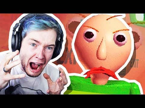 BALDI'S ANGRY!!! (I found his 7 notebooks..)