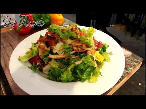 Chicken Salad Recipe From Chef Ricardo Salad Bar !!