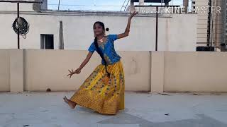 KANNUKUL POTHIVAIPEN song dance cover# classical dance # own choreography
