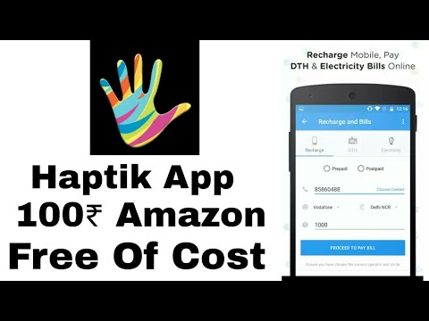 Haptik App Offer | Get Upto 100₹ Amazon Gift Card Free Of Cost 【 Limited Time Loot 】