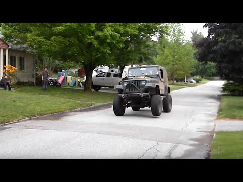Breaking in the Lexus 1UZ V8 Powered Jeep Wrangler