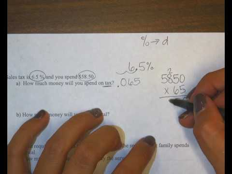 finding tax and total cost after tax