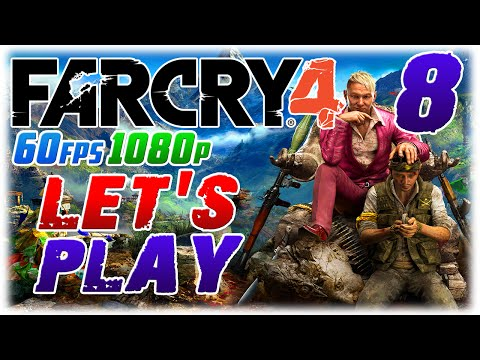 Far Cry 4 Let's Play #8 in 60fps 1080p;HUGE RHINO (1080p60 Far Cry 4 PC Playthrough #8)