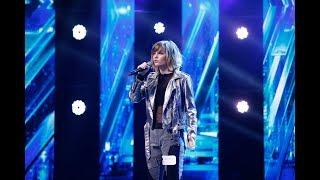 """Loren Allred  - """"Never Enough"""". Vezi cum cântă Spela Jezovsek, la """"X Factor""""!"""