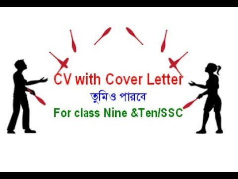 CV Writing with cover letter