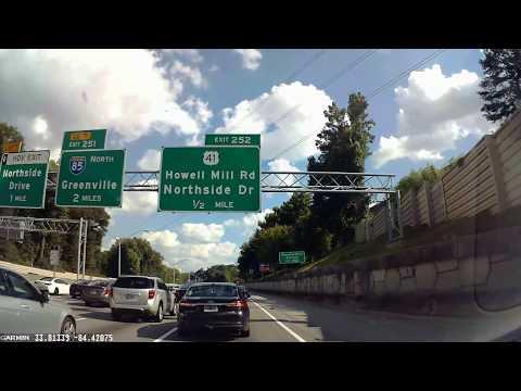 Traffic Jam in Atlanta