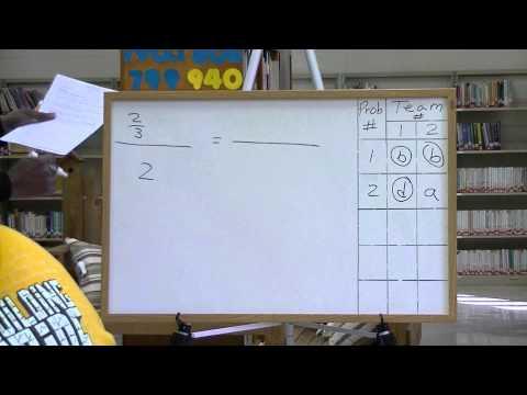 8th Grade Math Quiz Bowl (Quiz #1 -  Part 1)
