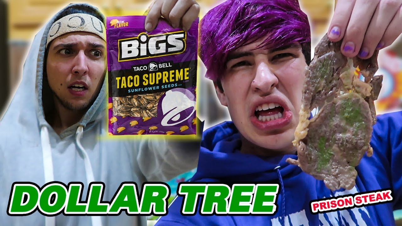 TRYING DOLLAR STORE FOOD with Corey