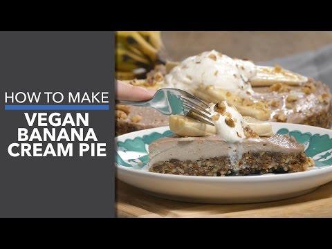 How to Make a Vegan Banana Cream Pie