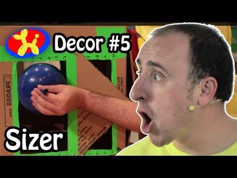Adjustable Balloon Sizer - Balloon Decor Lessons #5