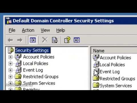 Disable Password Complexity in Windows Server 2003