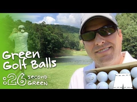 How To Use Green Golf Balls
