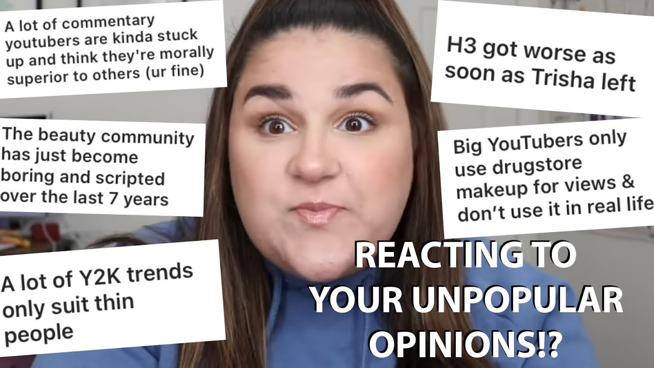 Reacting To YOUR Unpopular Opinions! *Ranty lol*