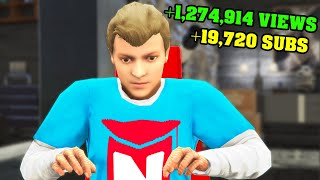 GTA 5 - PLAYING as a YOUTUBER! (Lifestyle Mod)