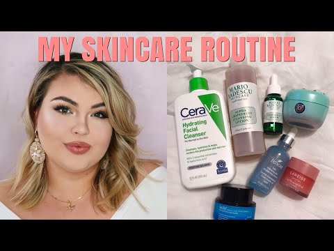 My Skincare Routine on Accutane | FOR DRY SKIN/ACNE SCARS