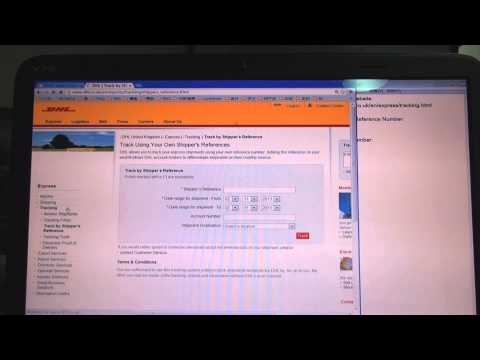 DHL Tracking Online How to Track DHL Parcel online