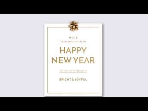 Free New Year Card That You MUST Have