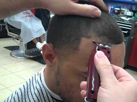 How to do an edge-up shape-up Rick aka Da People's Barber