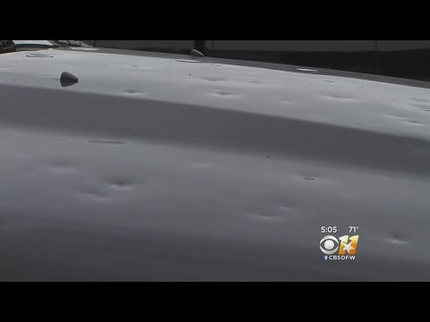 Don't Wait To Get Car Hail Damage Fixed