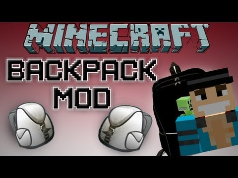 Minecraft 1.7.4 Mods | Backpack Mod! (Mod Showcase)