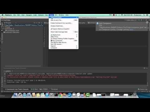 MVC PHP Tutorial 1 of 5 : Custom Autoloading