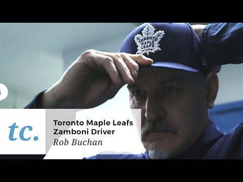 Toronto Maple Leafs Zamboni Driver Lays the Best Ice in the NHL
