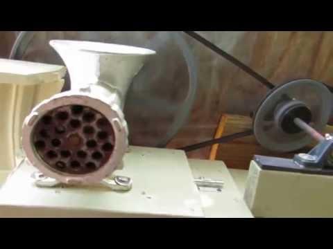 Fish Chum Grinder Video