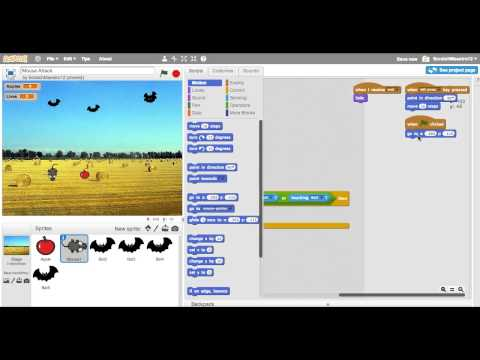 Scratch Games: Mouse Attack Overview