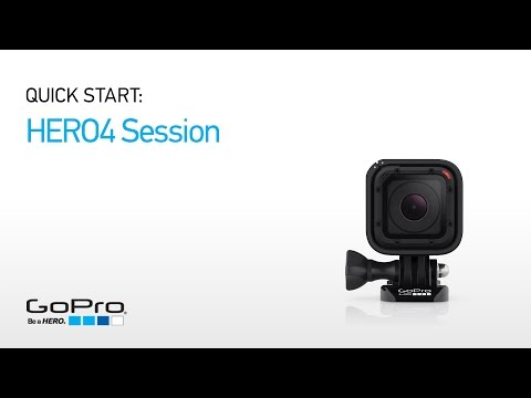 GoPro: HERO4 Session Quick Start - Overview (Part I)