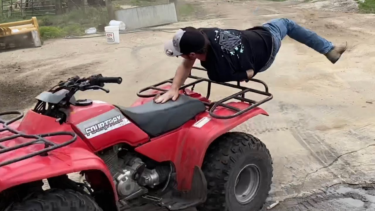 FOURTRAX FREESTYLING and gasoline in a pressure washer