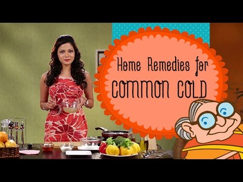 Common Cold - Simple Home Remedies For Common Cold |Running Nose | Blocked Nose and Cough - Sinus